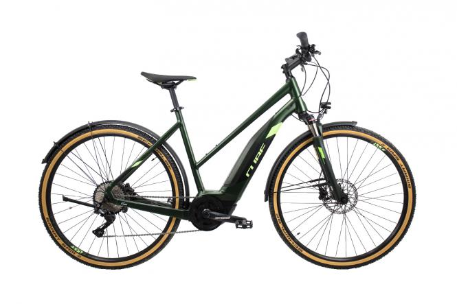 Cube Cross Hybrid EXC 500 Allroad green´n´green 2019 - Trapeze Lady 28 -