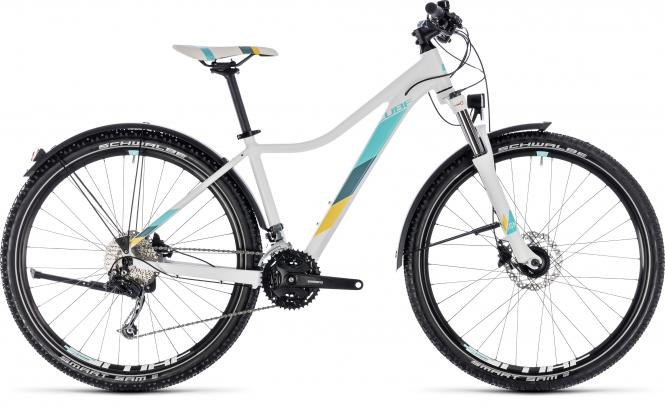 Cube Access WS Pro Allroad - 27.5 - white´n´blue