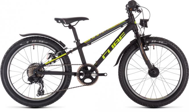 Cube Acid 200 Allroad Kinderfahrrad 20 Zoll Jugendrad black´n´yellow´n´orange 2019