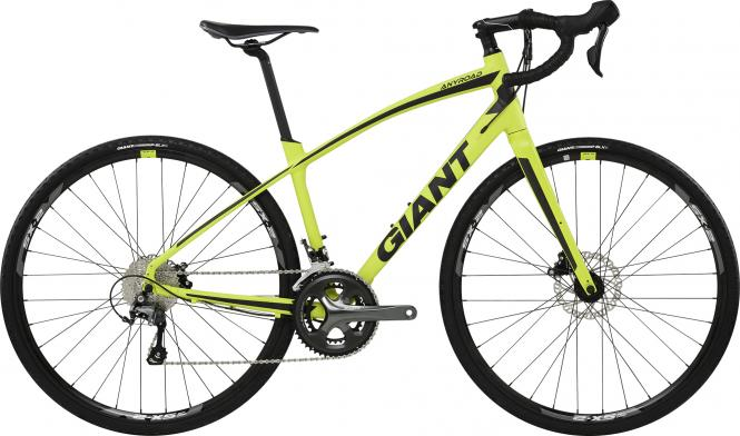Giant AnyRoad 1 LTD -  - Limeyellow Matt