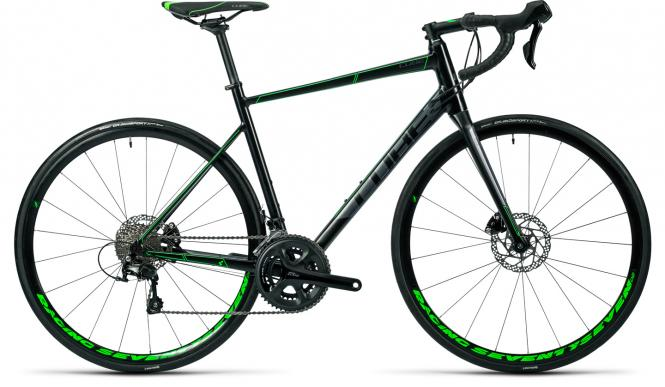 Cube Attain SL Disc black´n´green