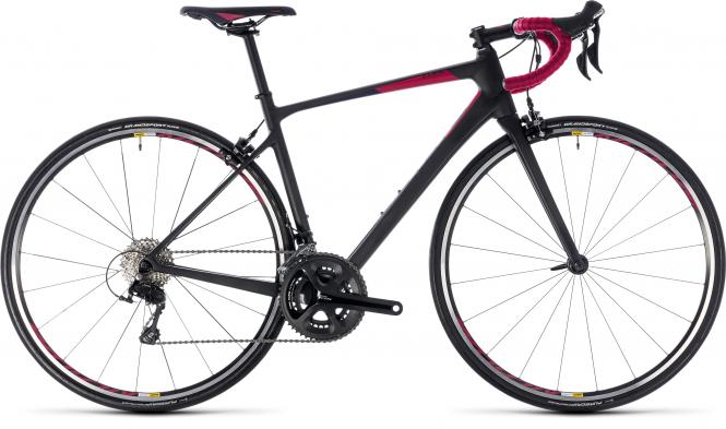 Cube Axial WS GTC Pro - 28 - carbon´n´berry