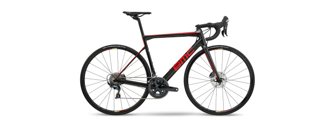 BMC teammachine SLR02 DISC TWO - TWO 28 -  Carbon Red 2018