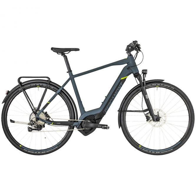 Bergamont E-Helix Expert EQ Gent dark grey/black/lime (matt) 2019 - Gent 28 -