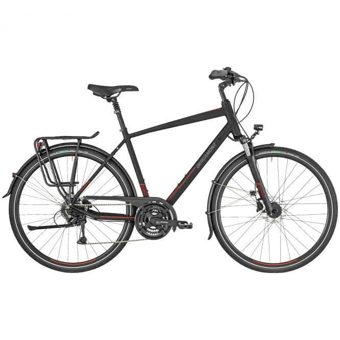 Bergamont Horizon 4 Gent black/dark red/red (matt) 2019 - Gent 28 -