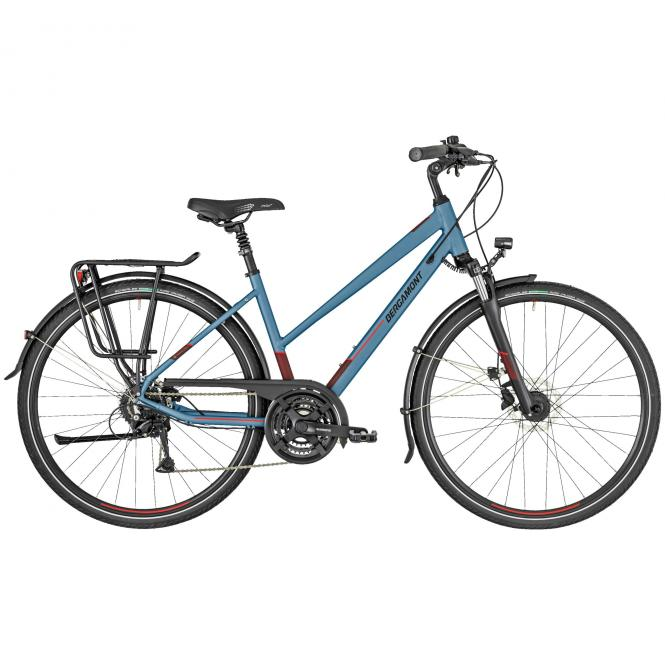 Bergamont Horizon 4 Lady bluegrey/black/coral red (matt) 2019 - Lady 28 -