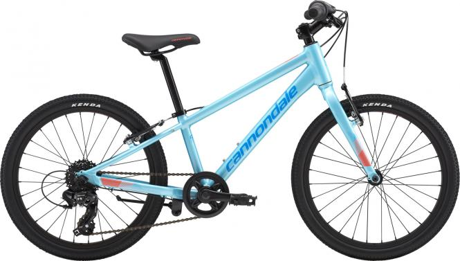 Cannondale Kids QUICK 20 GIRL'S AQU OS Aqua w/ Spectrum and Coral, Gloss 2018