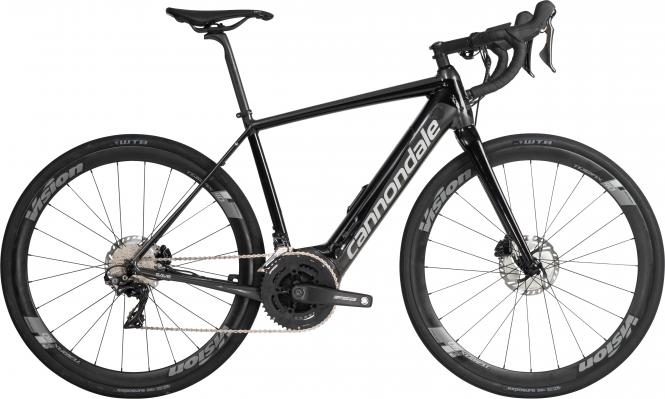 Cannondale Synapse Neo Al 1 BLK Jet Black w/ Graphite and Fine Silver - Gloss 2019