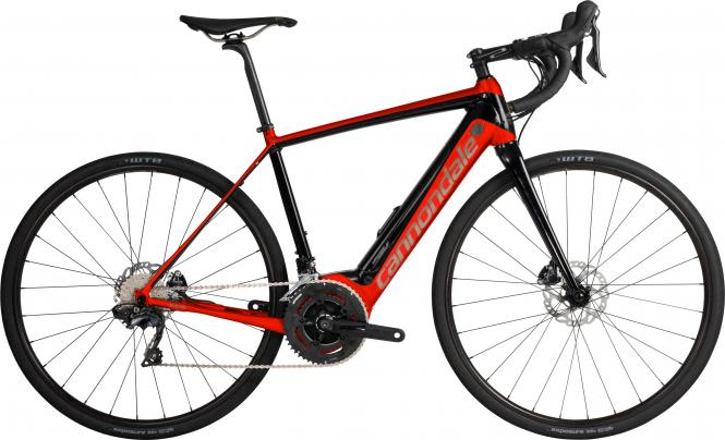 Cannondale Synapse Neo Al 2 ARD (x) Acid Red w/ Jet Black and Meteor - Gloss 2019 - HE 28 -