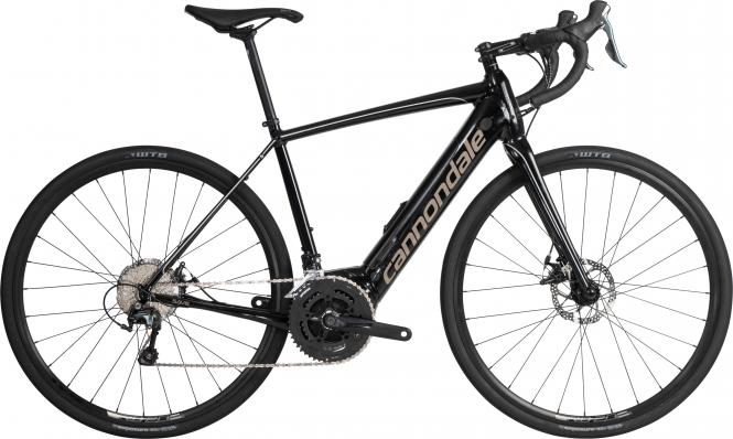 Cannondale Synapse Neo Al 3 BPL Jet Black w/ Meteor Gray and Fine Silver - Gloss 2019