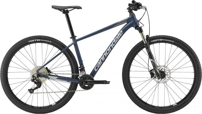 Cannondale Trail 4 SLA Slate Blue w/ Charcoal Gray and Fine Silver - Matt 2018