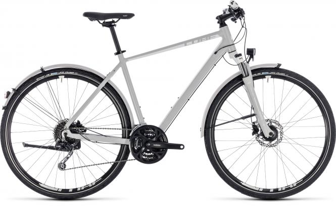 Cube Nature Pro Allroad bright grey´n´white 2018 - Men 28 -