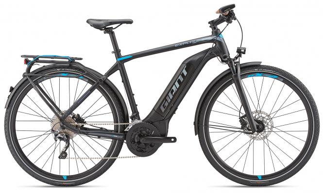 Giant Explore E+ 1 GTS Black-Blue-Grey Matt 2019 - 500 -