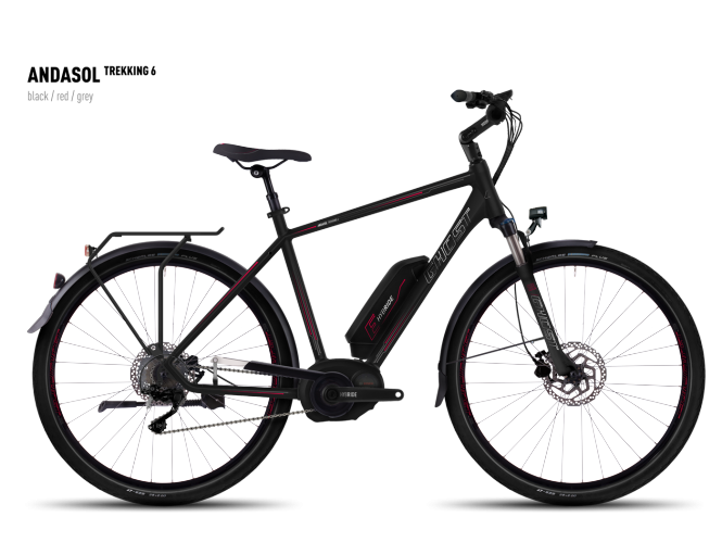 GHOST Andasol Trekking 6 black/red/gray 2016