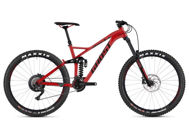 GHOST Framr 4.7 AL U - 27.5 -  riot red / night black 2019