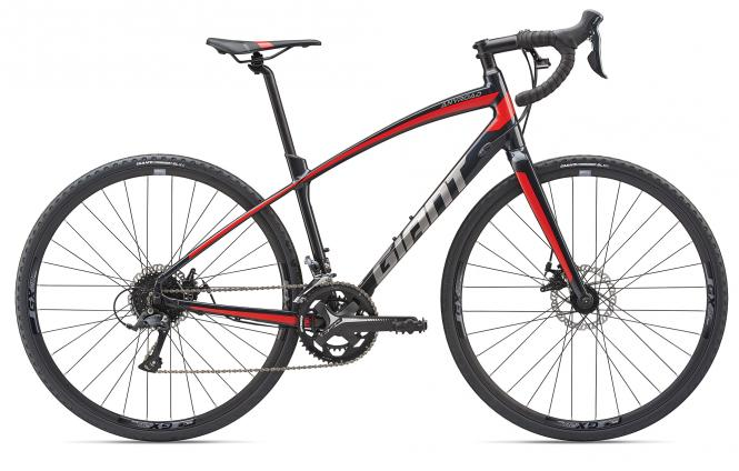 Giant AnyRoad 2 Metallicblack-Purered 2019