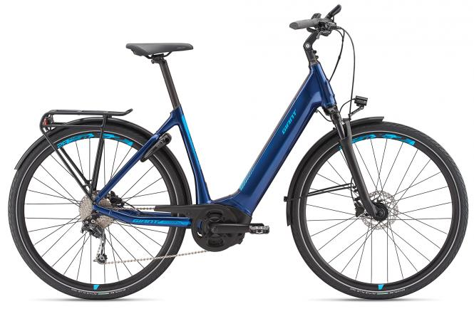 Giant AnyTour E+ 2 LDS Metallicblue 2019 - 500 -