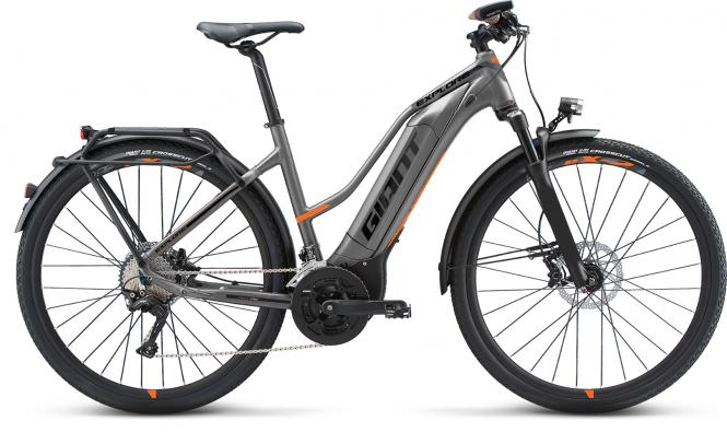 Giant Explore E+ 0 STA Grey-Orange-Black Matt 2019 - 500 -