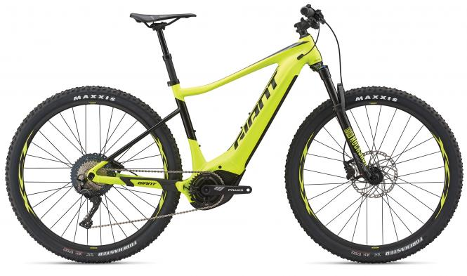 Giant Fathom E+ 1 Pro 29er Neonyellow-Black Matt 2019 - 500 -