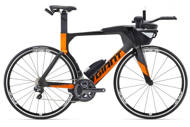Giant Trinity Advanced Pro 1 Carbonblack-Sunburstorange Matt 2017