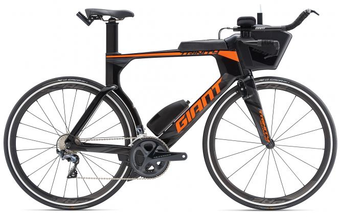 Giant Trinity Advanced Pro 2 Carbonblack-Orange 2019