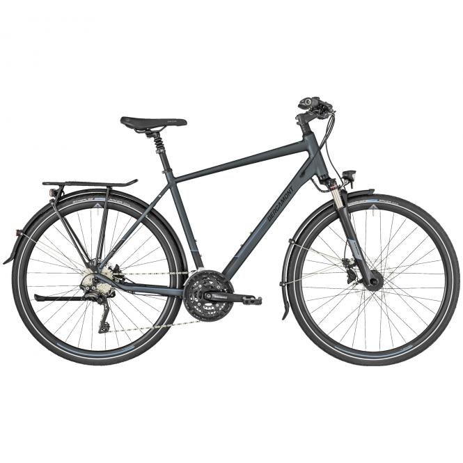 Bergamont Horizon 7 Gent dark grey/black/blue (matt) 2019