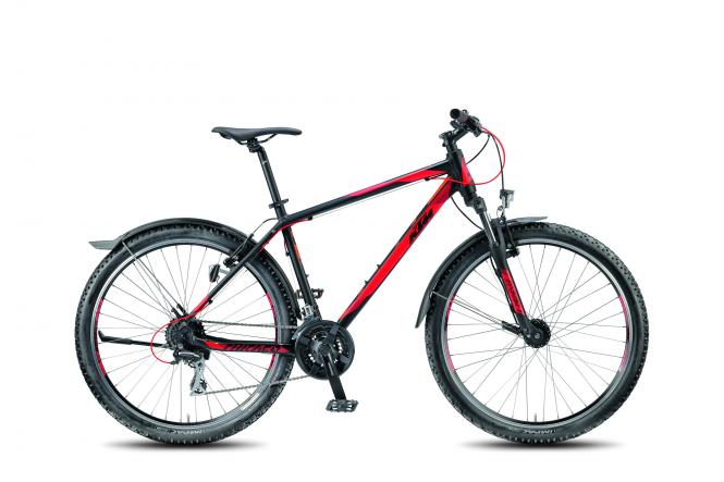 KTM CHICAGO 27.24 STREET black matt (red) 2018