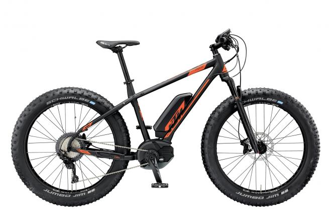 KTM MACINA FREEZE 261 black matt (toxic orange) 2019
