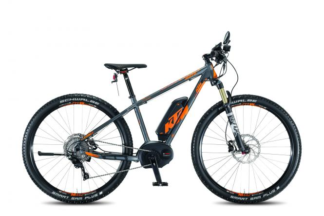 KTM MACINA MOTO 11 P5+ 45 titangrey matt orange 2016