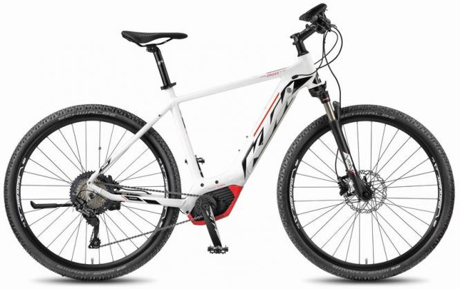 KTM Macina Cross 11 PT-CX5I - matte white - Damen
