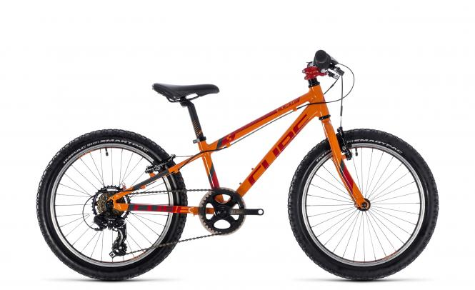 Cube Kid 200 orange´n´red