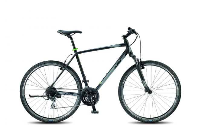KTM LIFE ONE 24 HE black matt (grey green) 2018