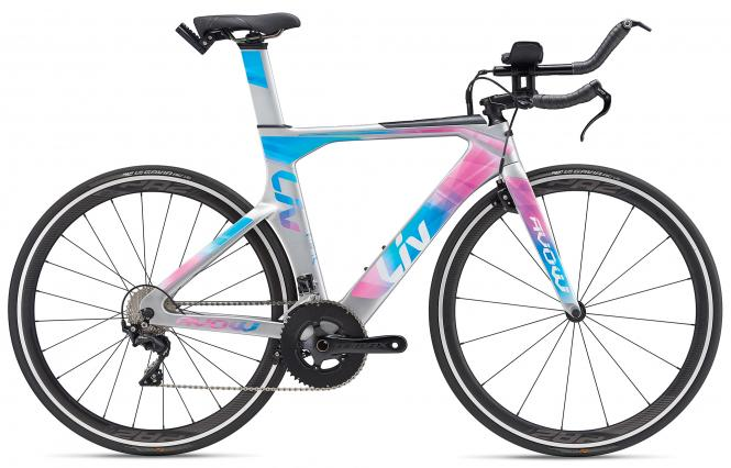 Liv Avow Advanced Silver-Pink-Blue 2019