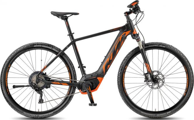 KTM MACINA CROSS XT 11 CX5+ matt-black (orange)