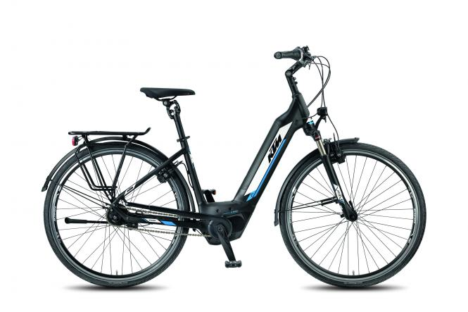 KTM MACINA EIGHT PLUS P5 US G black matt (white blue) 2018