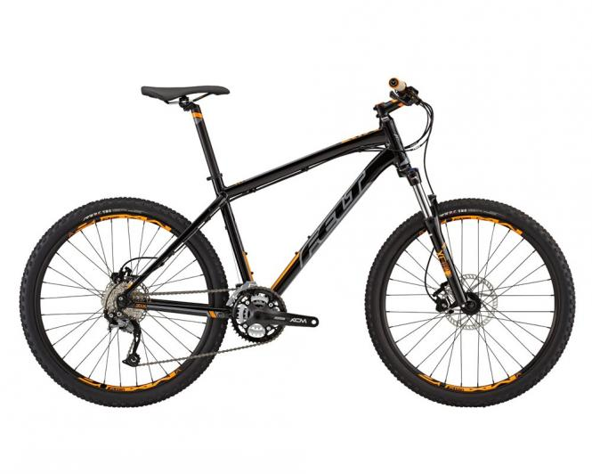 Felt MTB Six 70 2015 schwarz (grau, orange) 18""