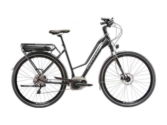 Cannondale Mavaro Headshok Woman E-Bike Charcoal Grey