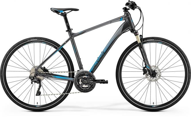 Merida CROSSWAY XT-EDITION - 28 -  DARK SILVER (BLUE) 2019