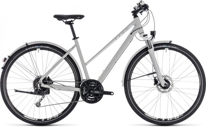 Cube Nature Pro Allroad Trapez bright grey-n-white 2018