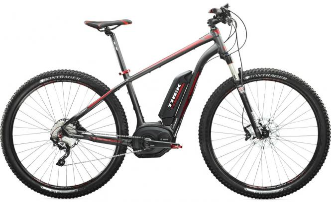 Trek Powerfly 7+ E-MTB matt black/ red