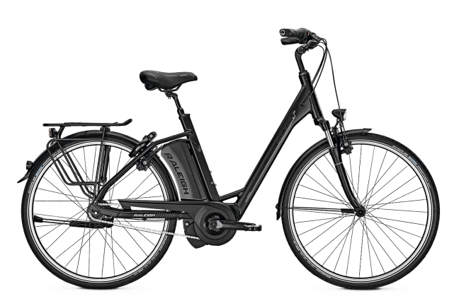 Raleigh BOSTON 8 magicblack matt 2018 - 28 Wave RT 468 Wh -