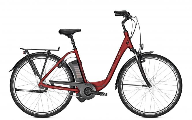 Raleigh DOVER 7 - 28 Comfort Freilauf  396 Wh -  winered matt 2019