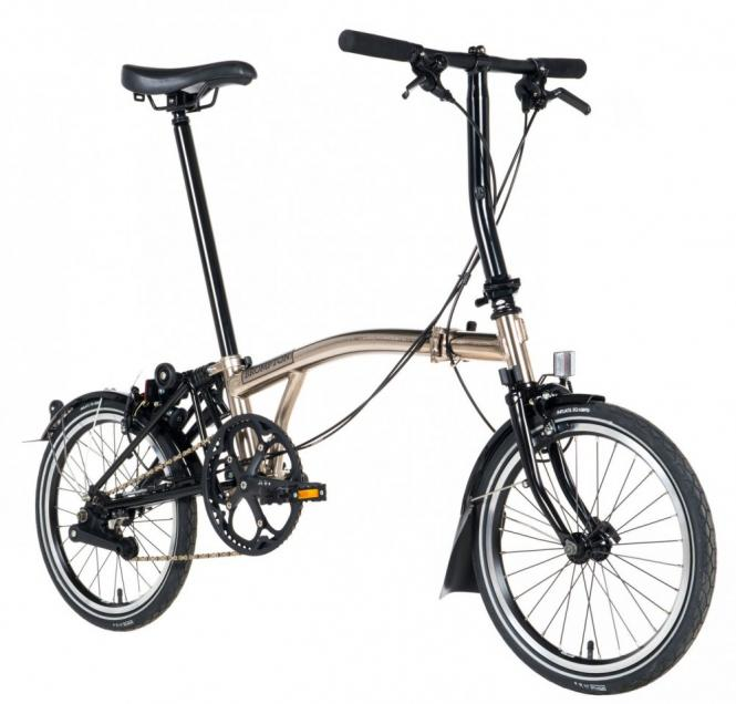 Brompton S6L nickel edition