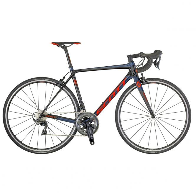 Scott Addict RC 10 (EU) BLACK / BLUE / RED 2018