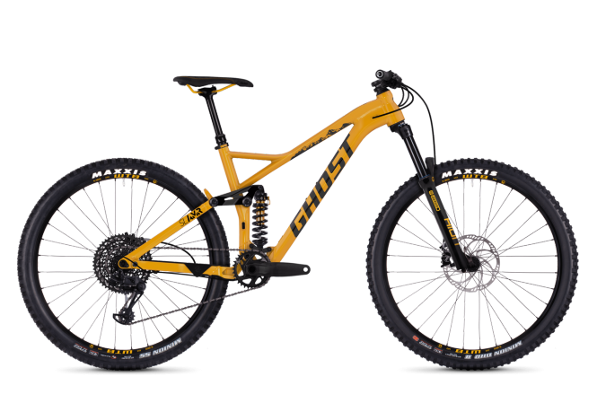GHOST Slamr 4.7 AL U Spectra yellow / NIGHTBLACK 2018 - Uni -