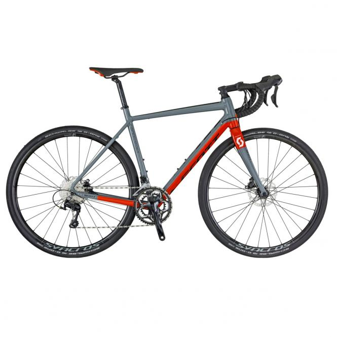 Scott Speedster Gravel 10 disc GREY / RED / BLACK 2018