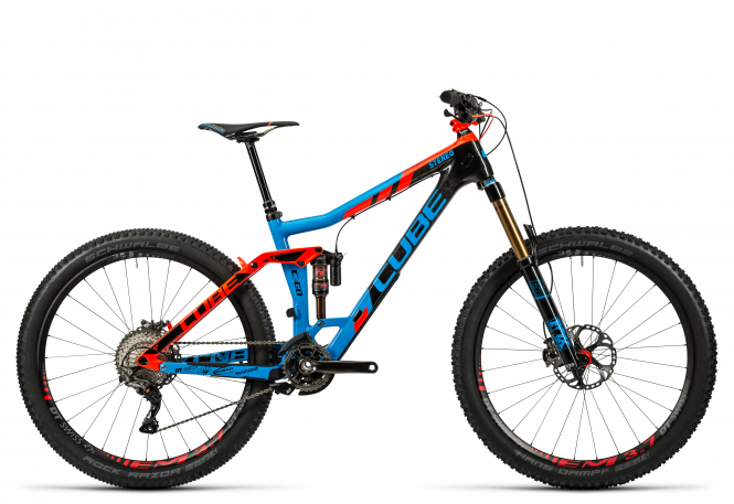 Cube Stereo 160 C:68 Action Team 27.5 action team