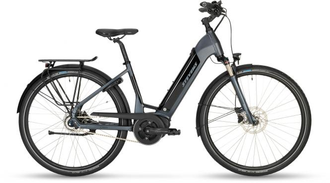 Stevens E-Courier PT5 - Forma 500Wh -  Granite Grey 2019