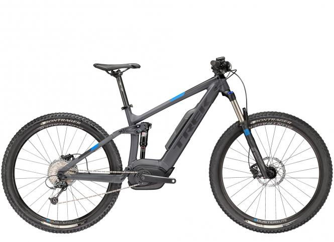 Trek POWERFLY FS 5 - 27.5 -  Matte Solid Charcoal/Trek Black 2019