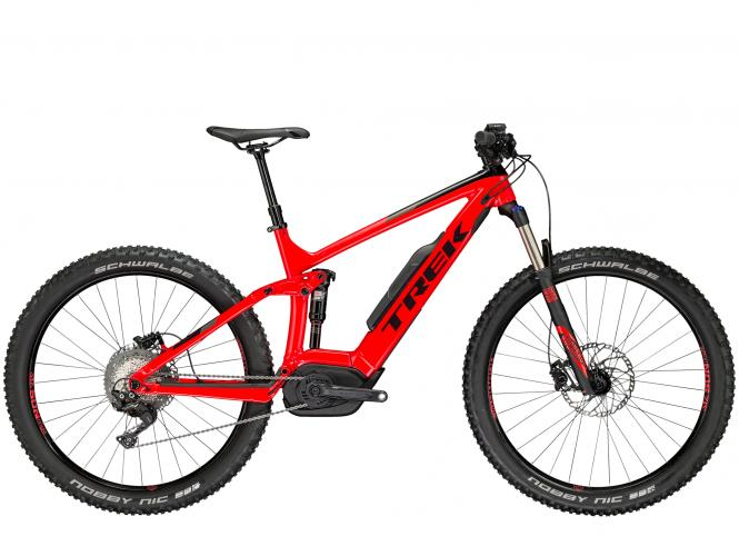 Trek Powerfly 7 FS Plus Viper Red/Trek Black 2018 - 27.5 -